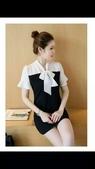 香奈兒  chanel  衣服:商品編號:78109906 💰1800🌹🌹香奈兒chanel拼接假兩件連衣裙❄❄4.jpg