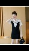 香奈兒  chanel  衣服:商品編號:78109906 💰1800🌹🌹香奈兒chanel拼接假兩件連衣裙❄❄3.jpg