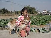 2009春節賞花樂:蓁與妞妞
