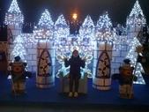 晚餐後逛新北市政府廣場:小熊城堡