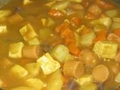 羅山泥火山豆腐:泥火山豆腐素咖哩
