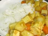 羅山泥火山豆腐:泥火山豆腐素咖哩飯