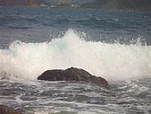 再訪八斗子:浪與岩石