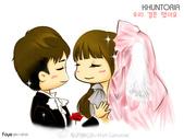 維尼夫婦婚紗:KhuntoriaQQ漫畫1.jpg