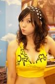 我的人像攝影作品精選:2006/08/05 台北電腦應用展Show Girl