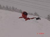 2006年2月6日苗場:否則會失速坐進雪堆