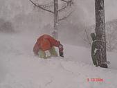 2006年2月6日苗場:要努力連滾帶爬