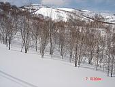 2006年2月6日苗場:田代沒滑過的初雪