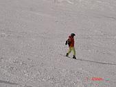 2006年2月6日苗場:下過雪的雪道超好滑的
