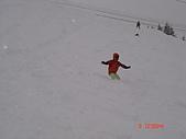 2006年2月6日苗場:那衝進雪堆滑初雪