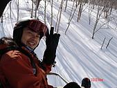 2006年2月6日苗場:坐在纜車上的我