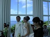 關島婚禮:新人進場