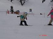 2006年2月6日苗場:ski school 的小孩超可愛