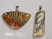 艾文拍的美美水晶:軟錳礦純銀墬子