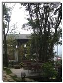 紫色午後:咖啡屋與露台