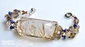 艾文拍的美美水晶:晶瑩閃亮的太晶版珠手鍊-2010/06/24最新寶貝水晶