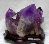 艾文拍的美美水晶:可防敗家又招貴人的紫黃晶簇