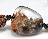 艾文拍的美美水晶:鈦晶異相水晶版珠手鍊-2010/06/17