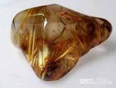艾文拍的美美水晶:鈦晶原礦石特寫ㄧ