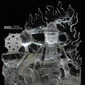 艾文拍的美美水晶:天然白水晶觀自在菩薩特寫
