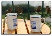 早安!花蓮~觀海:海月民宿我們房間的觀景小陽台