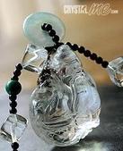 艾文拍的美美水晶:白水晶漁翁得利項鍊