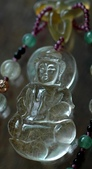 艾文拍的美美水晶:髮晶菩薩項鍊