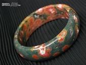 艾文拍的美美水晶:另一個角度看同只手鐲,紅綠對比如楓葉爭豔.jpg