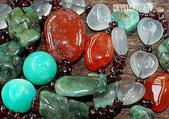 艾文拍的美美水晶:西藏紅玉髓純銀項鍊