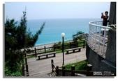 早安!花蓮~觀海:觀海餐廳外的陽台是拍攝海景的好地點