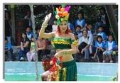 陽光森巴:換了水果女郎造型的紅髮舞者,嬌俏迷人
