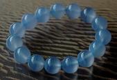 艾文拍的美美水晶:藍玉髓手珠