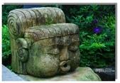 天使‧天堂:映涵飯店門口的石雕,很有巴厘島的風味