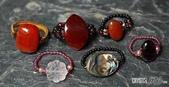 艾文拍的美美水晶:各式漂亮晶石戒指