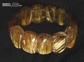 艾文拍的美美水晶:鈦晶大板珠雙聯手珠