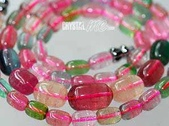 艾文拍的美美水晶:顆顆顏色清麗剔透,整串都很整齊的品相