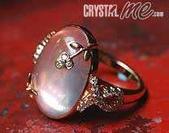 艾文拍的美美水晶:讓你人氣旺旺的粉晶戒指