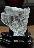 艾文拍的美美水晶:透明石膏原礦擺飾
