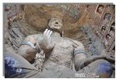 真如自在--五台山朝聖行:雲岡石窟石刻佛像氣勢磅薄雄偉