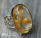 艾文拍的美美水晶:氣勢迫人的鈦晶戒指