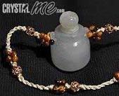 艾文拍的美美水晶:2010/03/18之緬甸玉寶瓶項鍊