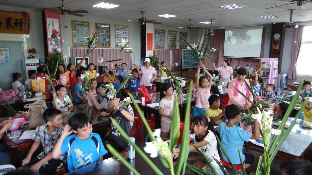 103年8月12日羅東小哈佛補習班到大安藥園休閒農場進行戶外教學活動:DSC06414.JPG