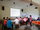 陳淑良老師於6/18到頭城農場為農場解說員講解藥草功效:DSC06028.JPG