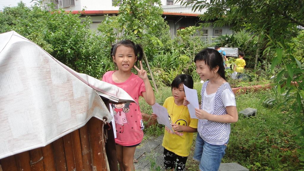 103年8月12日羅東小哈佛補習班到大安藥園休閒農場進行戶外教學活動:DSC06404.JPG