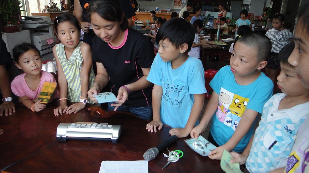 103年8月8日宜蘭市私立安康幼兒園到大安藥園休閒農場進行戶外教學活動:DSC06320.JPG