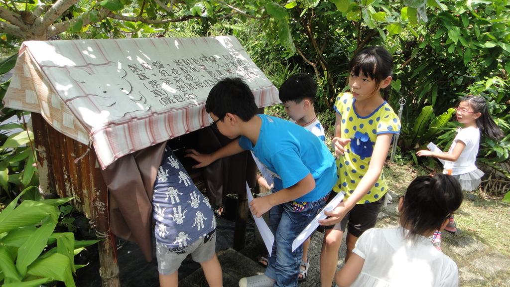 103年8月12日羅東小哈佛補習班到大安藥園休閒農場進行戶外教學活動:DSC06402.JPG