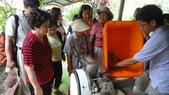 2014年6月13日宜蘭縣蘭陽技術學院化妝品應用系到大安藥園休閒農場進行參訪活動:DSC05072.JPG