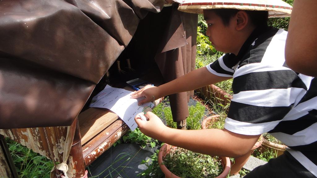 103年7月16日宜蘭縣壯圍鄉私立大佑安親班到大安藥園休閒農場進行夏令營一日遊活動:DSC05784.JPG