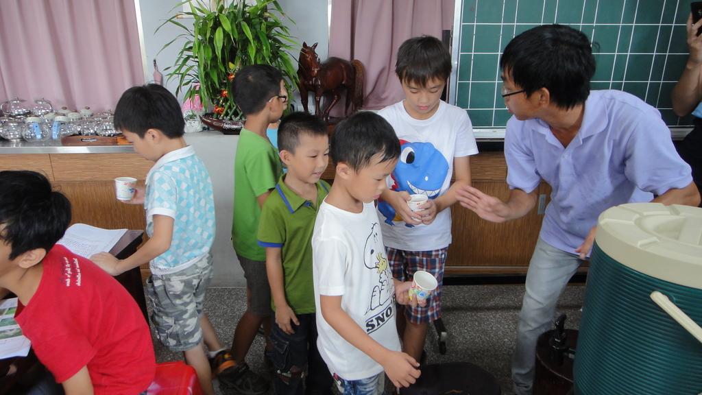103年8月8日宜蘭市私立安康幼兒園到大安藥園休閒農場進行戶外教學活動:DSC06284.JPG