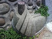 09-08-02 苗栗 通霄神社、虎頭山公園 台中日南火車站:階梯旁的石雕
